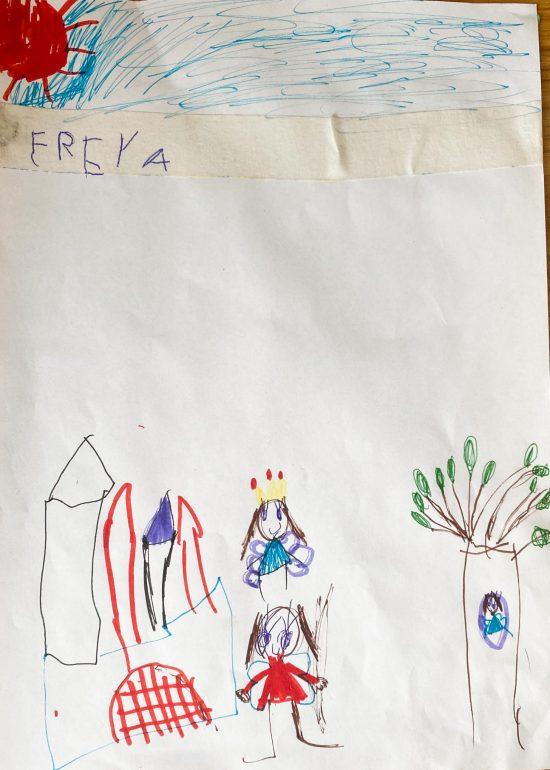 Freya age five