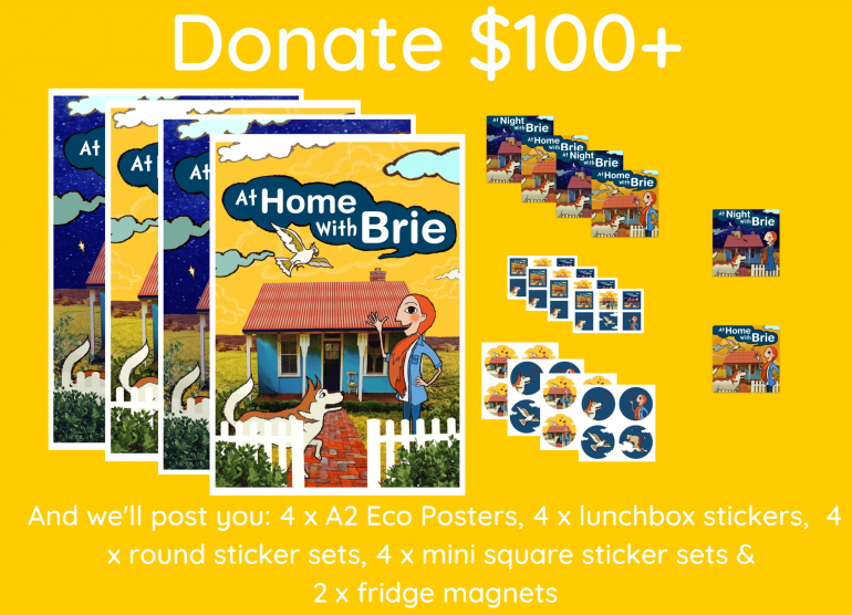 At Home With Brie 100 Donation